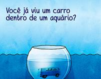 Peça Experimental Poluição de Rios