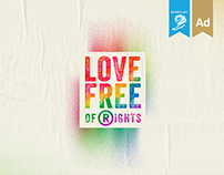 Love Free of Rights / Campaign / Fundación Iguales