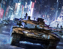 Armored Warfare tanks