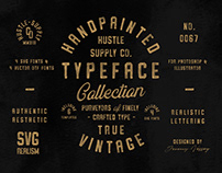(SVG) The Hand Painted Font Collection