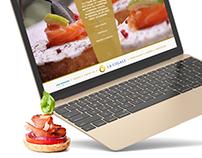 La Cigale Website Concept