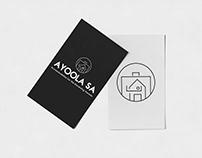 Propuesta de logotipo y branding para Ayoola SA