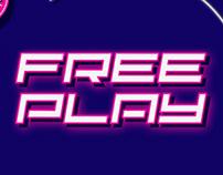 FREE PLAY - FREE RETRO DISPLAY FONT