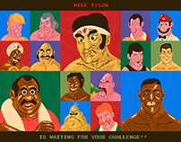 Mike Tyson's Punch-Out!! Art Show
