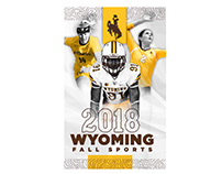 Wyoming Fall Sports Pocket Schedule & Holder