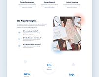 Agency Website Redesign