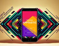 Mobile App Portfolio | Web Page Design