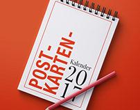 Postkartenkalender 2017