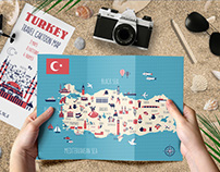 TURKEY cartoon map