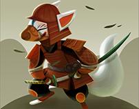 samurai kitsune