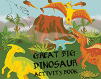 Dinosaur Cover Illustration