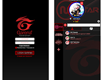 Garena + (Redesigning User Interface)