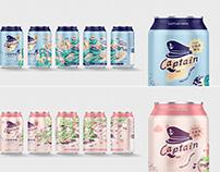 卡布敦啤酒|暢遊琉球系列 Captain Beer Packaging Design