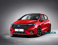 Ford Fiesta Facelift 2023