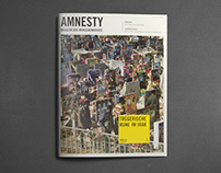 Amnesty Magazin Redesign