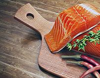 Salmon Scene