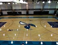 Charlotte Hornets Practice Court
