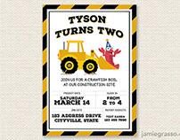 Tyson Turns Two