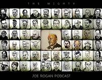 Joe Rogan Podcast drawings