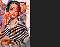 girls / digital collage series