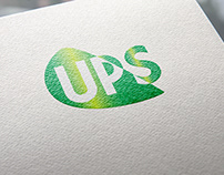 REDESIGN LOGO UPS | SCHOOL PROJECT