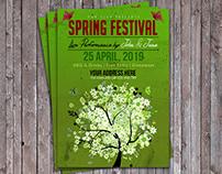 Spring Music Festival Flyer
