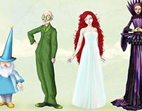 OZ - character design