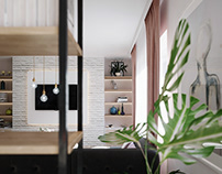 Apartment interior design, Sarajevo, Bosnia