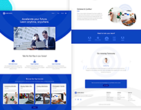 Learn Circle Landing Page