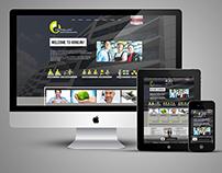 HONGJININDUSTRIAL.COM - 2015-2016 website design