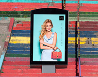 PSD Billboard Poster Mockup Free For Advertisement