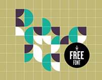 Patrona experimental type (Free font)