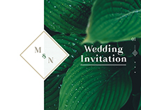 Mutiara & Nanda Wedding Invitation