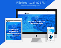 Plásticos Ituzaingó SRL - One Page Scroll