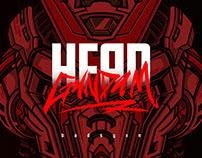 Head Gundam Fanart Illustration