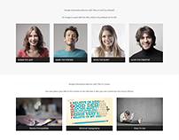 Interactive Banner Element Page - Edge WordPress Theme