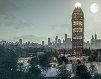 Plastic Education Tower