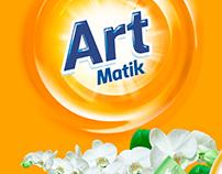 Art Matik Detergent / Packaging Design