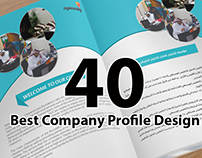 40+ Best Company Profile Design Inspiration