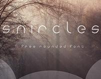 snircles / free font download.