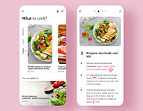 Cooking App exploration