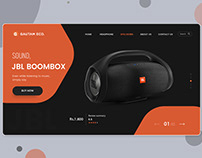 Ecommerce Landing Page Templates PSD