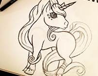 Unicorn Drawing #4