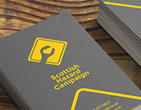 Scottish Hazard Campaign - logo design