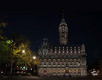 Lichtplan Stadhuis Middelburg