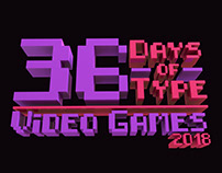 36 Days of Type Video Game Edition