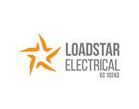 Loadstar Electrical Logo Design