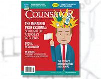 Counselor Magazine June 2015 Layout & Design