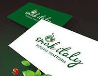 Smak italy - pizzeria trattoria. Rebranding.