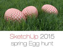 SketchUp 2015 spring egg hunt